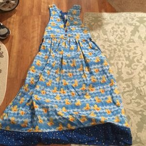 Dresses & Skirts - pinup girl handmade rubber ducky dress